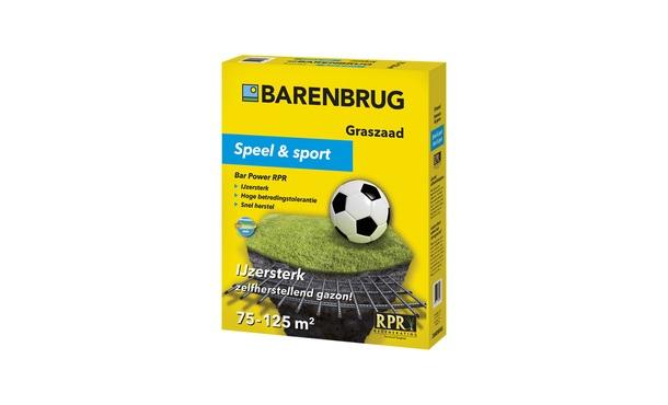 Barenbrug Speel en Sport 2,5 kg • Gras en Groen Winkel