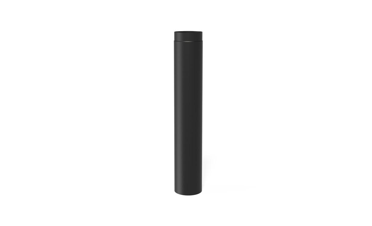 Kachelpijp staal zwart Ø200 x 1000 mm • Gras en Groen Winkel