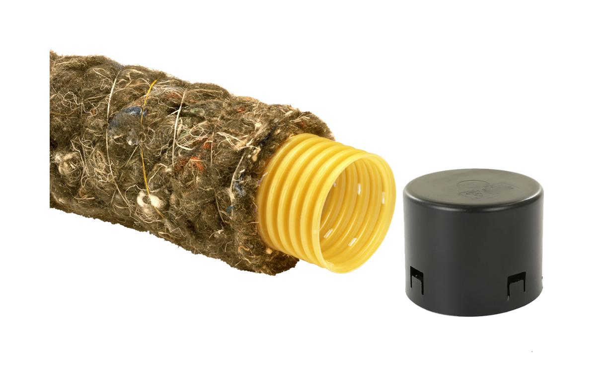 Verticale drainage 60mm incl. afsluitkap • Gras en Groen Winkel