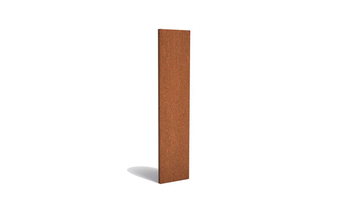 Tuinpaneel corten basic 50 x 180 cm • Gras en Groen Winkel